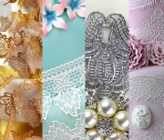 Butterfly, Peacock, Art Nouveau And Tiffany Cake Lace Mats