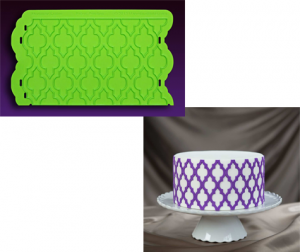Design Your Own Cake Mold : Silicone Onlays Cake Decorating By Marvelous Molds - The ...