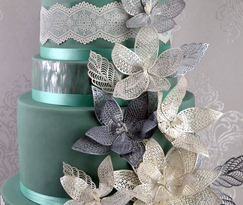 Fantasy Flower Cake Lace Mat